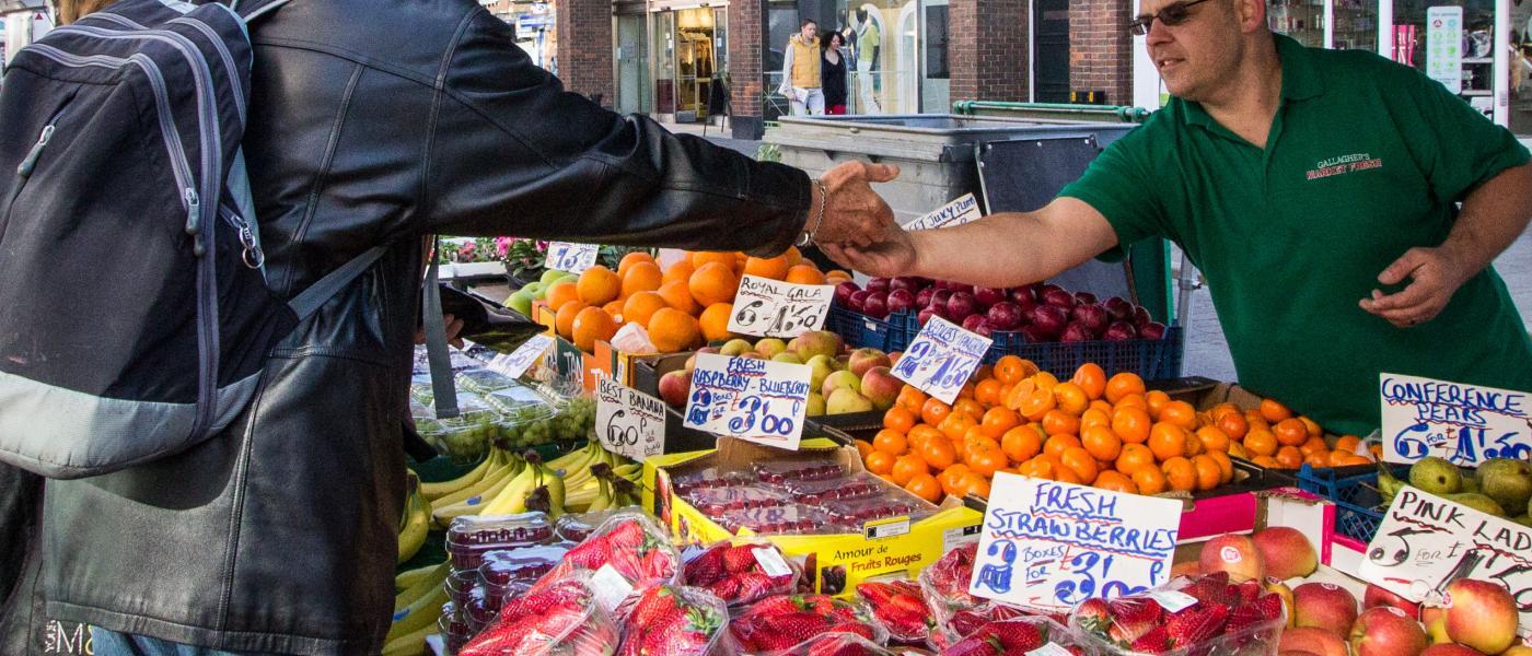 Market in Bishop's Stortford